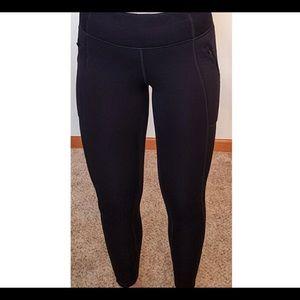 Nwot $118 Athleta Fleece primaloft Legging ST